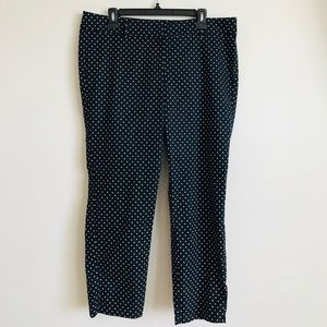 NAVY BLUE ANN TAYLOR PANTS